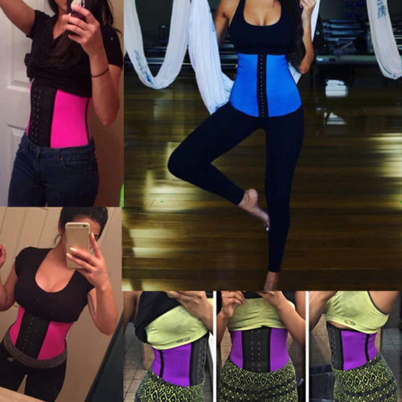 Waist Trainer Corset Underwear Slimming Body Shaper Shapewear Tummy Control,Beige,L,United States
