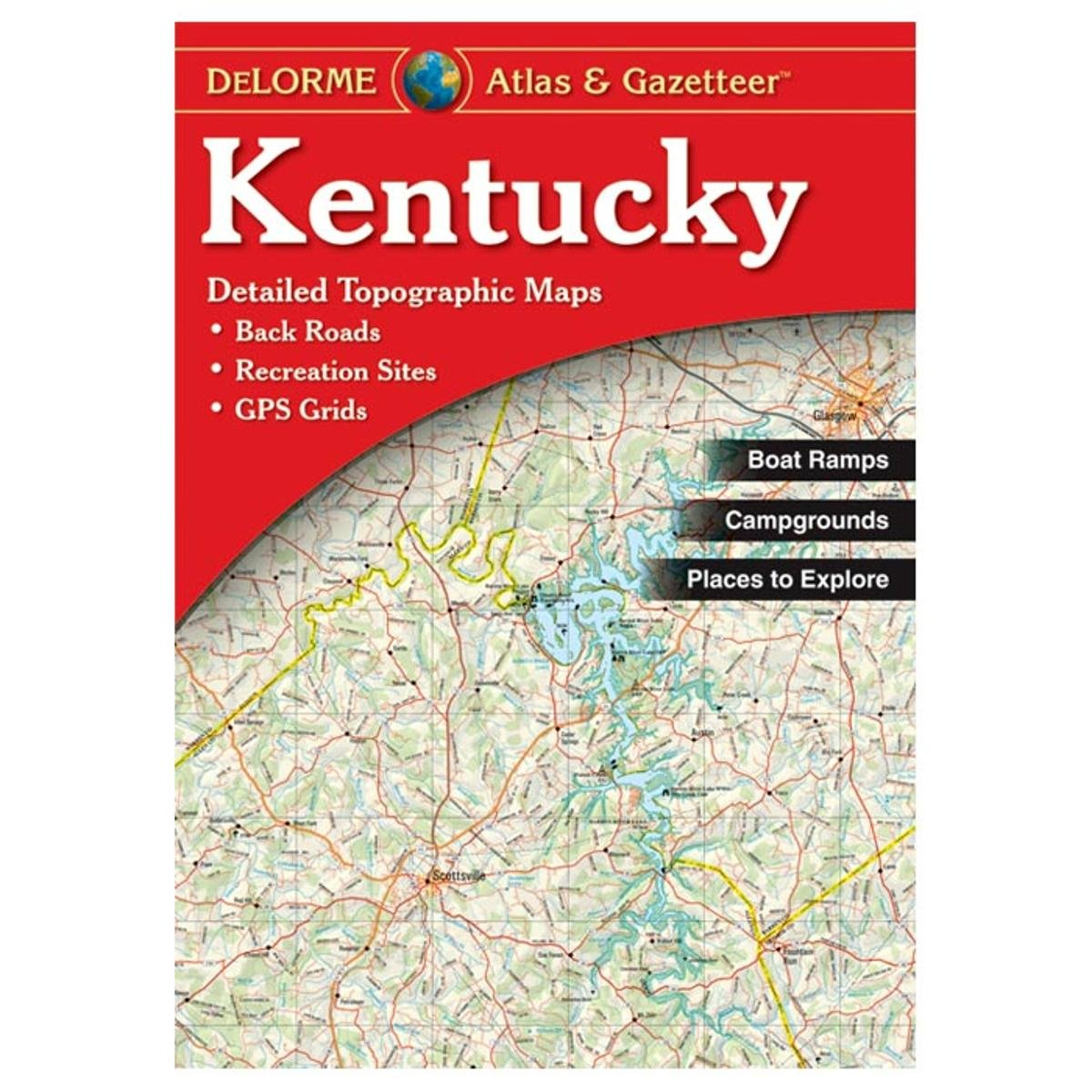 Amazoncom Delorme Kentucky Atlas and Gazetter Outdoor