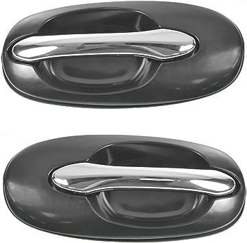 Black Front Exterior Door Handle Right RH For 02-05 Sedona