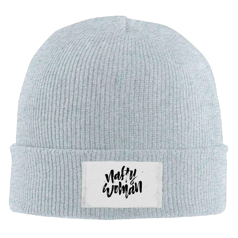 Amazon.com  Beanie Hats Nasty Woman Definition Printed Hedging Cap Slouchy  Winter Warm Skull Caps for Men Womnens  Clothing 6ede3b466be