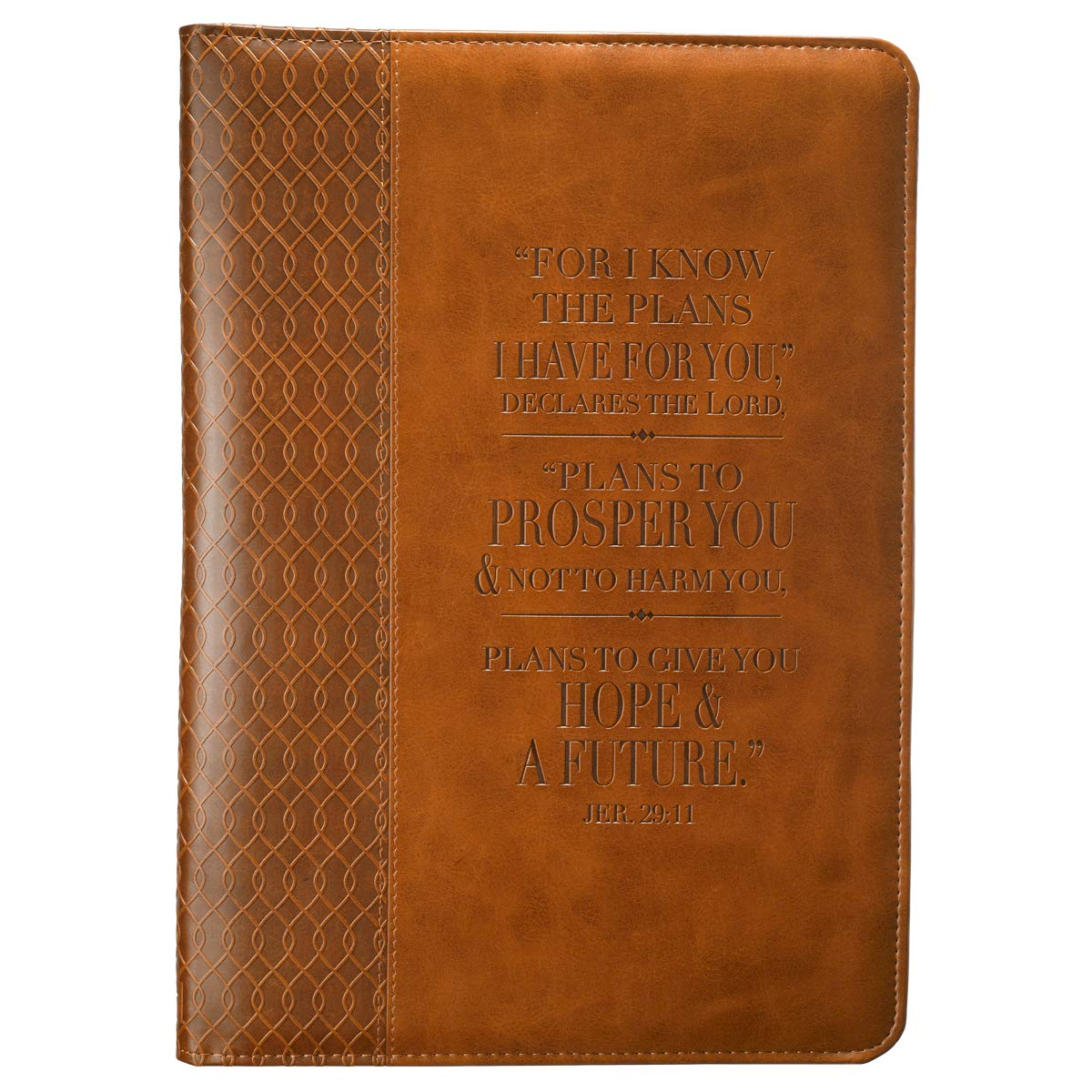 jeremiah 2911 two tone flexcover journal