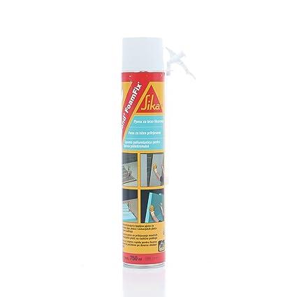 Espuma de poliuretano Sika FoamFix 750 ml unidades de 1pz