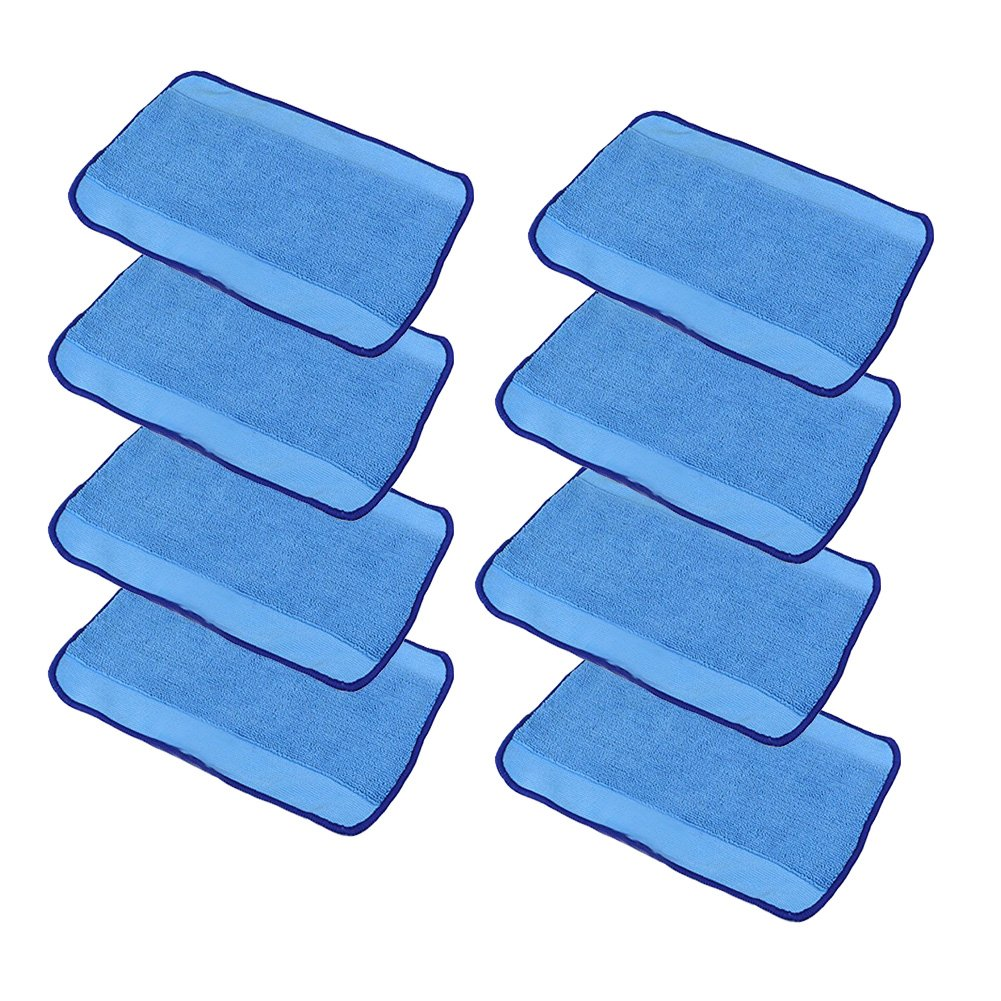 Wet Microfiber Mopping Cloths for iRobot Braava 380 380t 320 Mint 4200 4205 5200 5200C Vacuum Cleaner 8 Pcs by aoteng