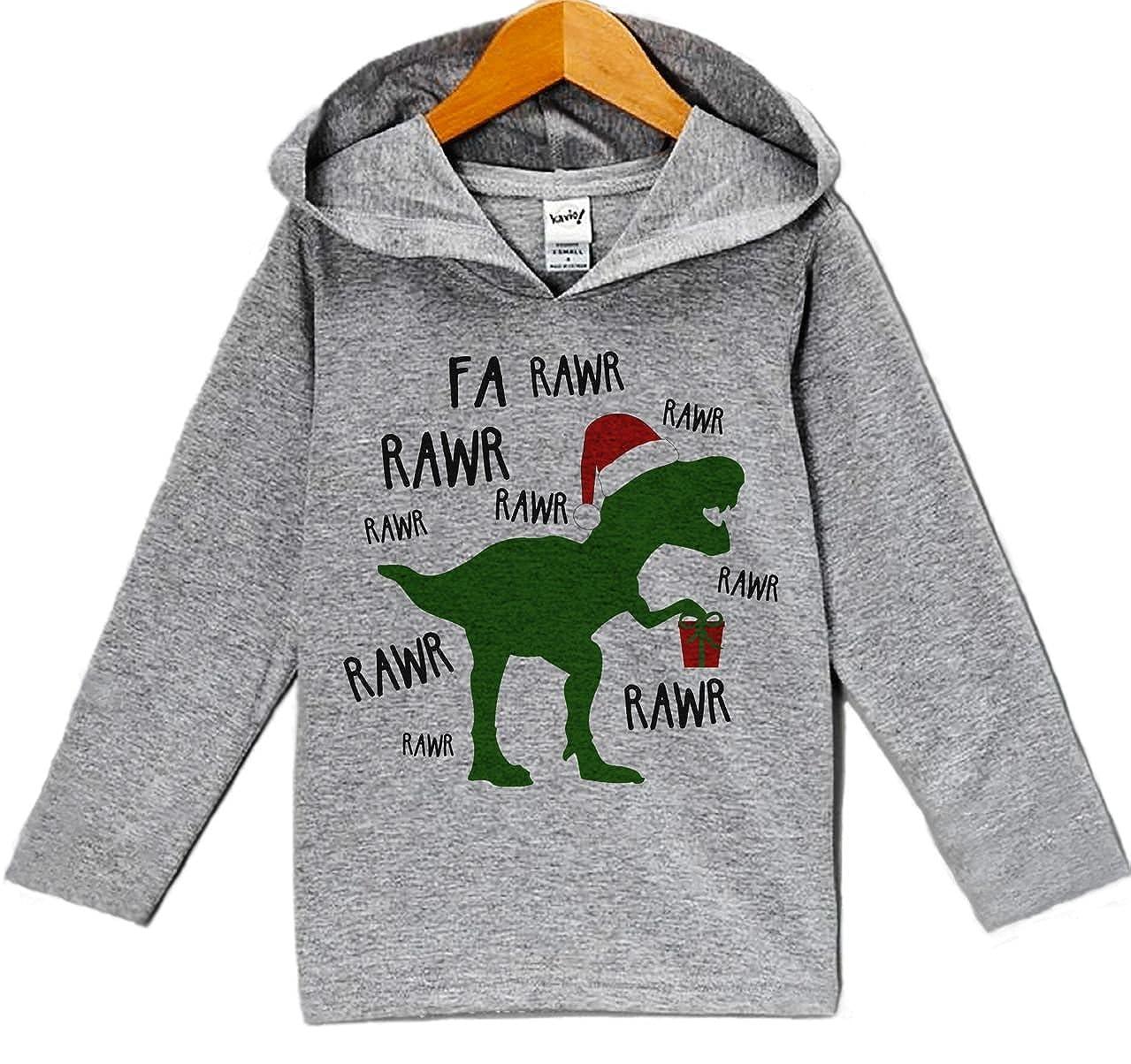 Custom Party Shop Babys Christmas Dinosaur Hoodie