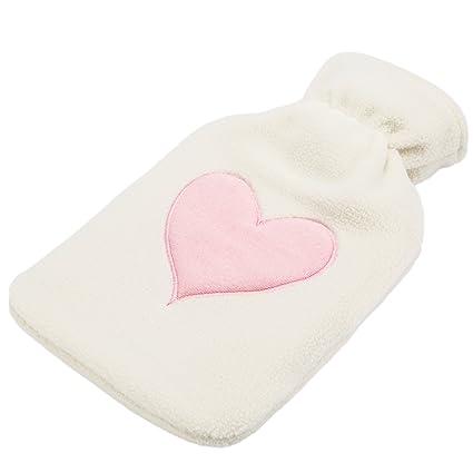 Levivo Bolsa de agua caliente para bebés, en rosa