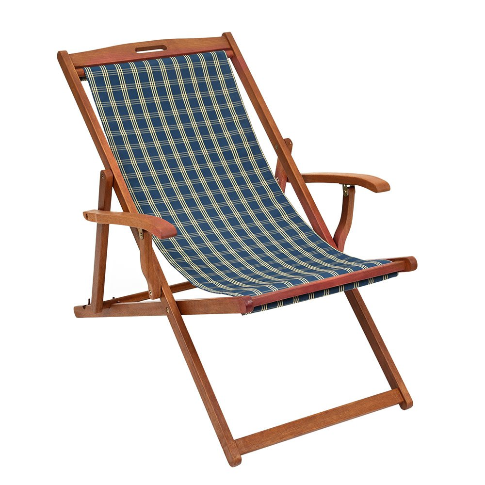 Deckchair - Traditional hardwood framed with arms