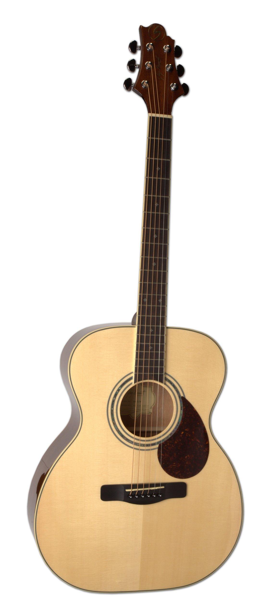 Samick Greg Bennett Design OM5 Acoustic Guitar, Natural by Samick