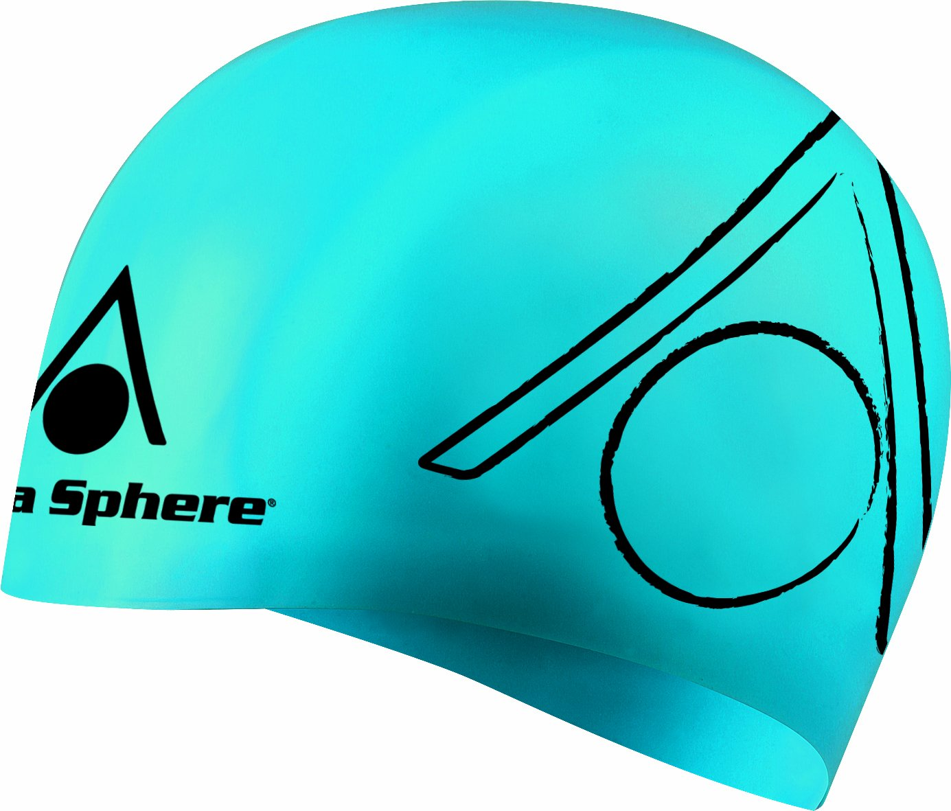 Aqua Sphere Tricap Swim Cap B00IBDTP4K ブルー