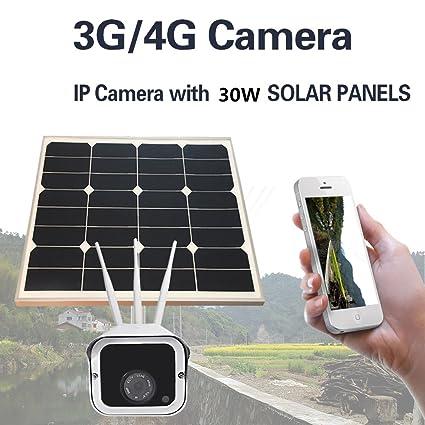 Energía Solar 3G 4G gsm 3 cámaras CCTV de Las Antenas Cámara IP inalámbrica de LTE