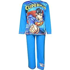 Boys Batman Vs Superman Long Length Sublimation Print Pyjamas Age 4 to 10 Years