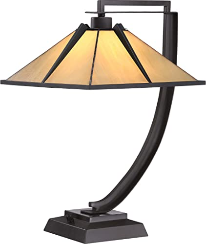 Quoizel TF1791TWT Tiffany Table Lamp Lighting