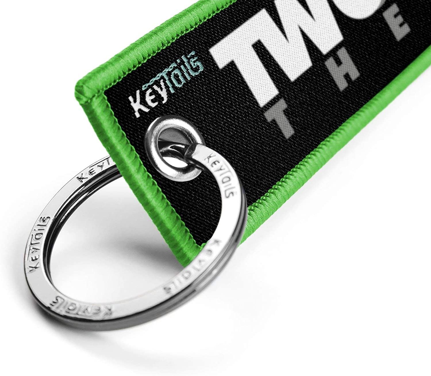 KEYTAILS Keychains UTV Two Wheel Therapy Scooter ATV Premium Quality Key Tag for Motorcycle