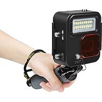 SHOOT 1000LM Video Luz LED Lámpara Impermeable con Filtro para GoPro Hero 7 Black (2018)/Hero 6/Hero 5/Hero 4 Cámara Deportiva