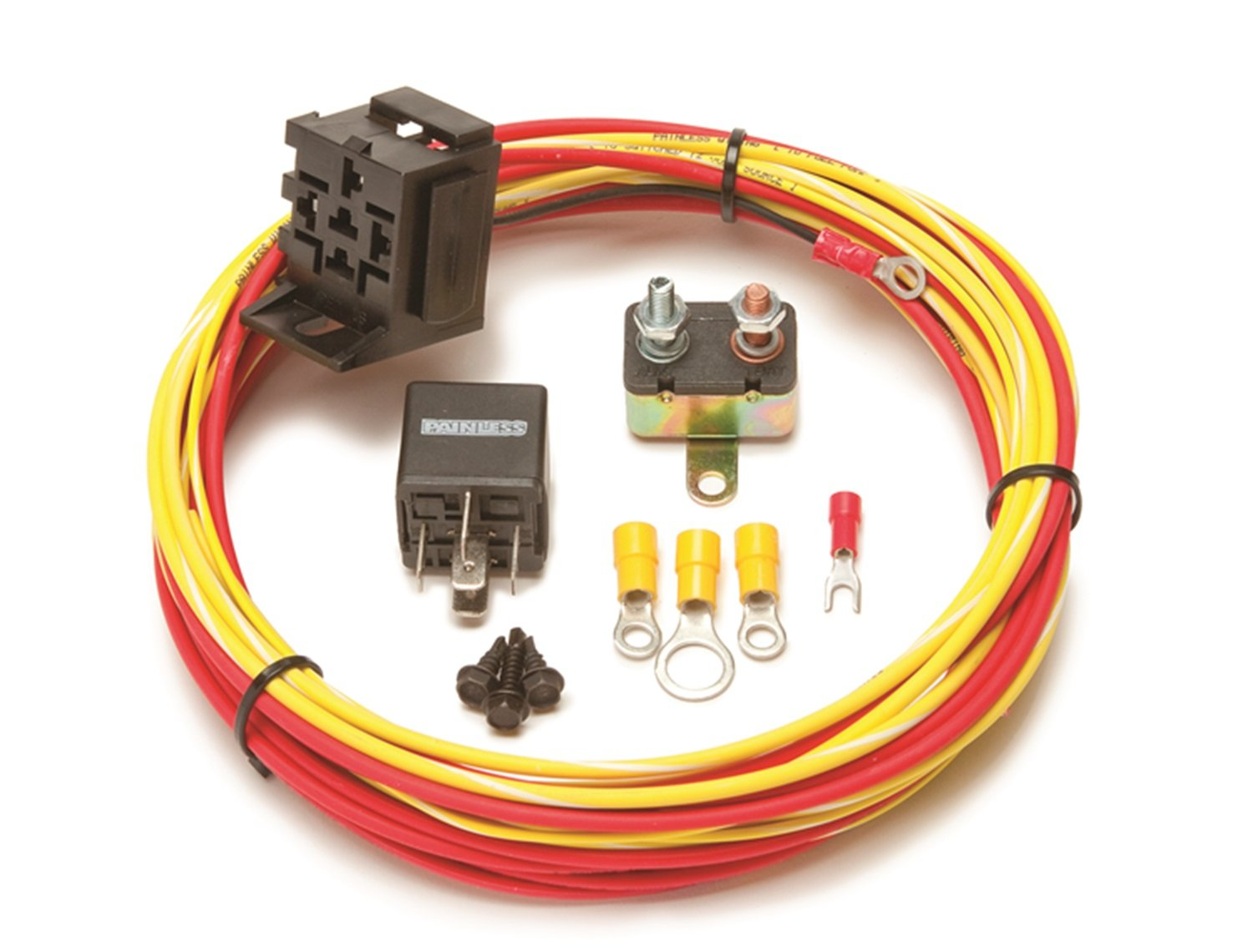 Painless 50102 Fuel Pump Relay Kit by Painless