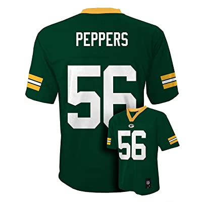 Julius Peppers Green Bay Packers Green NFL Youth Home Mid Tier Jersey
