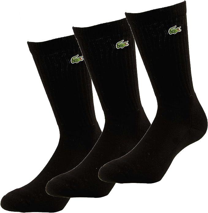 Lacoste Socken Socks 3er Pack Calcetines, Hombre: Amazon.es: Ropa ...