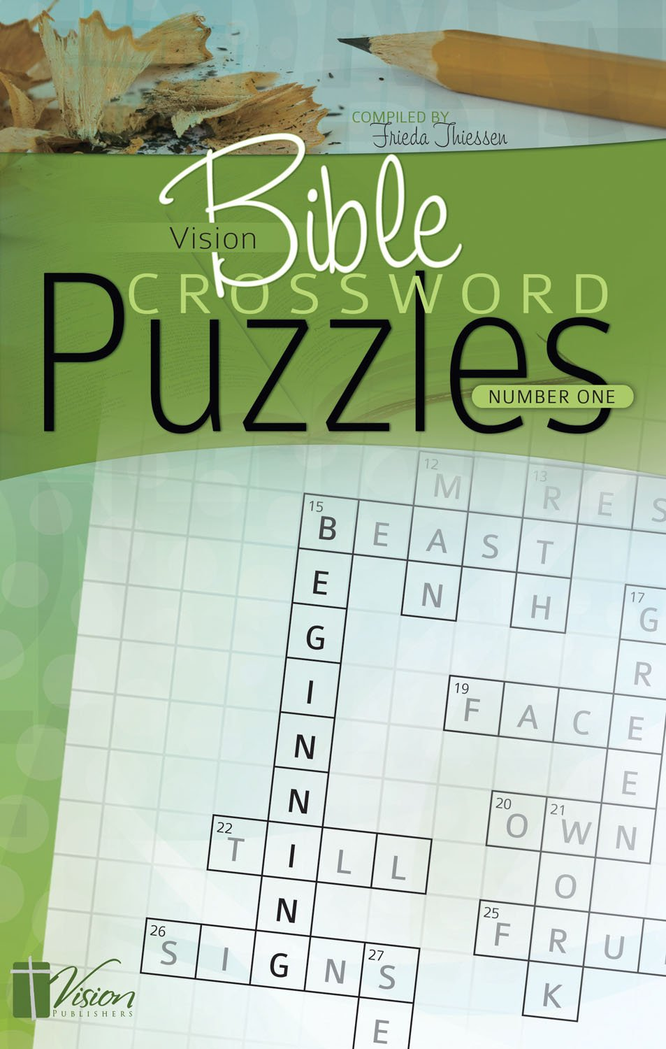 Download Vision Bible Crossword Puzzles Number One pdf