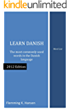 Learn Danish - word list
