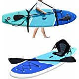 Zupapa Inflatable Stand Up Paddle Board Non Slip Deck Kayak Convertible for Adults Kids