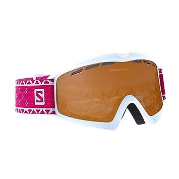 60063c8341 Salomon, Child (3-6 years) Ski Goggles, Cloudy Weather, Tonic Orange ...