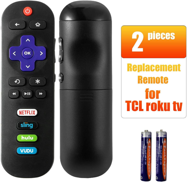 Bedycoon - Mando a distancia compatible con TCL Roku TV Smart TV RC280 55UP120: Amazon.es: Electrónica