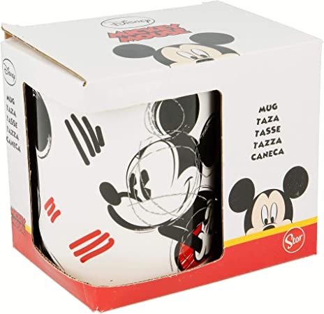 TAZA CERAMICA 325 ML CON CAJA | MICKEY MOUSE - DISNEY - ROUGH ...