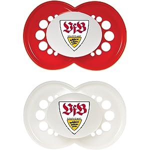 VFB Stuttgart Stabgreifling f/ür Babys Maskottchen Fritzle