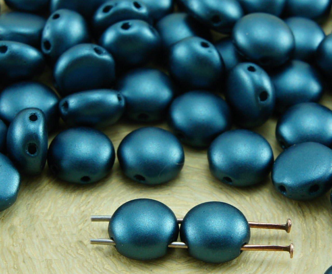 Czech Glass beads PRECIOSA Candy™  8mm 2 Hole
