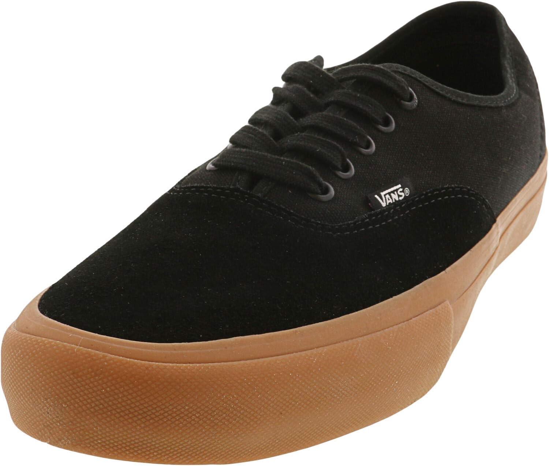 Vans Authentic Pro Shoes 42 EU Black Classic Gum: