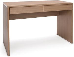 OFM Essentials Collection 2-Drawer Solid Panel Office Desk, in Harvest (ESS-1012-HVT)