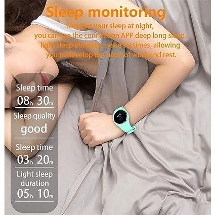 IFMASN Reloj Inteligente, Reloj Deportivo Inteligente para el sueño y la presión Arterial, con Monitor de oxígeno Impermeable para Hombres y Mujeres al Aire ...