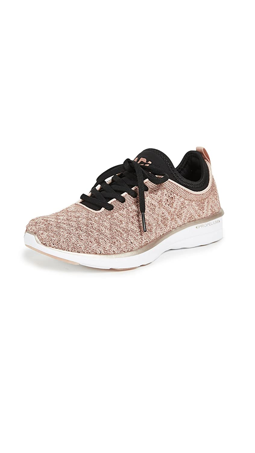APL: Athletic Propulsion Labs Women's Techloom Phantom Sneakers B078HFWFNC 6.5 B(M) US|Rose Gold/Black