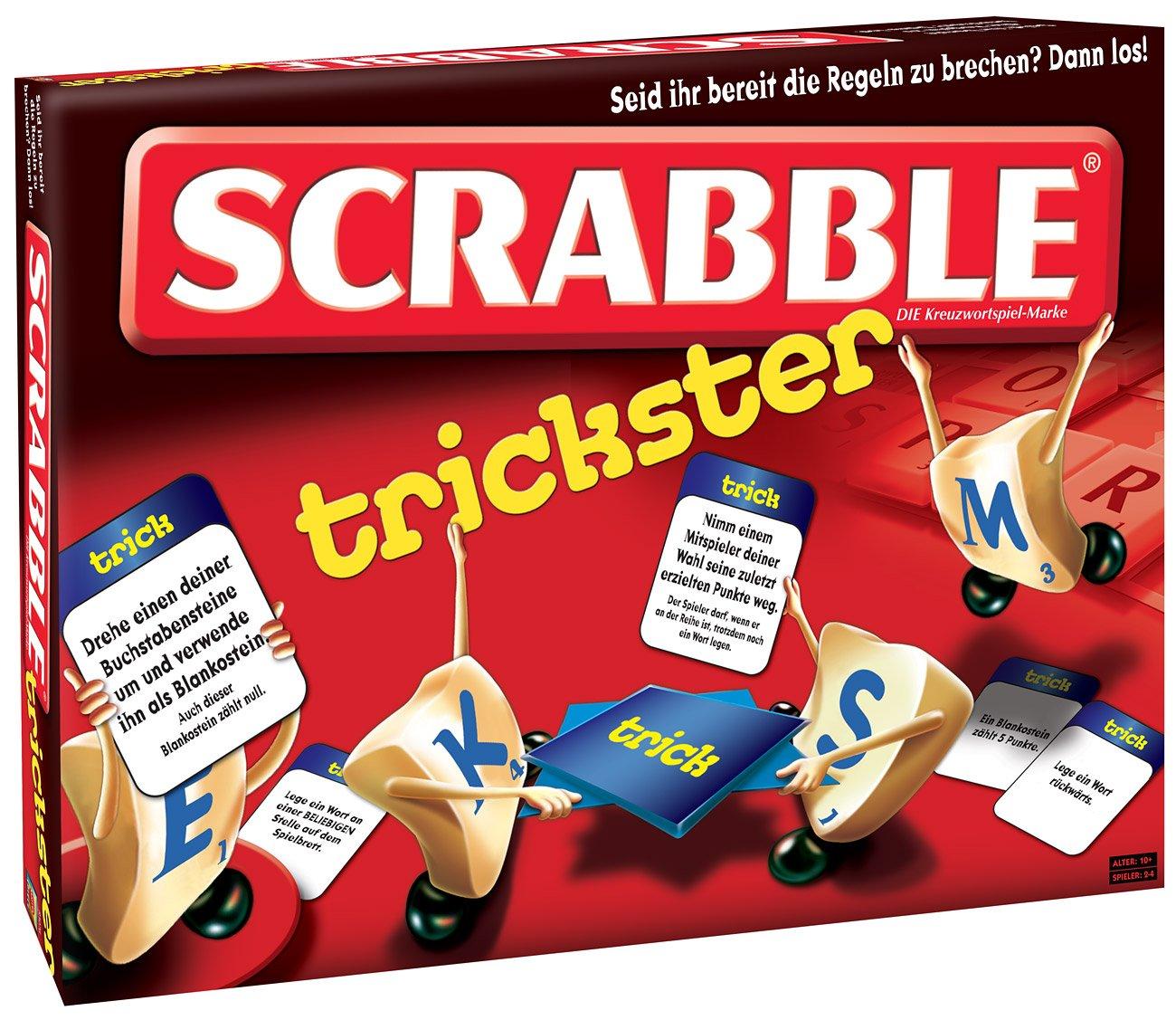 Mattel R3076-0 - Scrabble Trickster, Legespiel