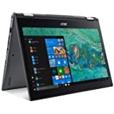 "Acer Spin 5 SP513-53N-53Y5, Convertible Laptop, 2-in-1, 13.3"" Full HD Touch, 8th Gen Intel Core i5-8265U, Alexa Built-in, 8GB"