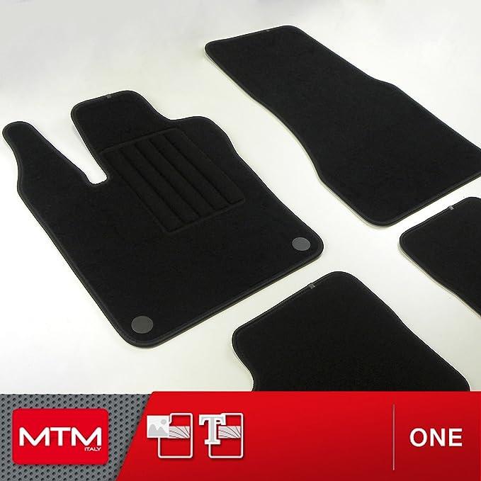 Mdm Fußmatten Twingo Iii Ab 08 2014 Passform Wie Original Aus Velours Automatten Mit Absatzschoner Aus Textile Rand Rutschhemmender Cod One 4932 Auto