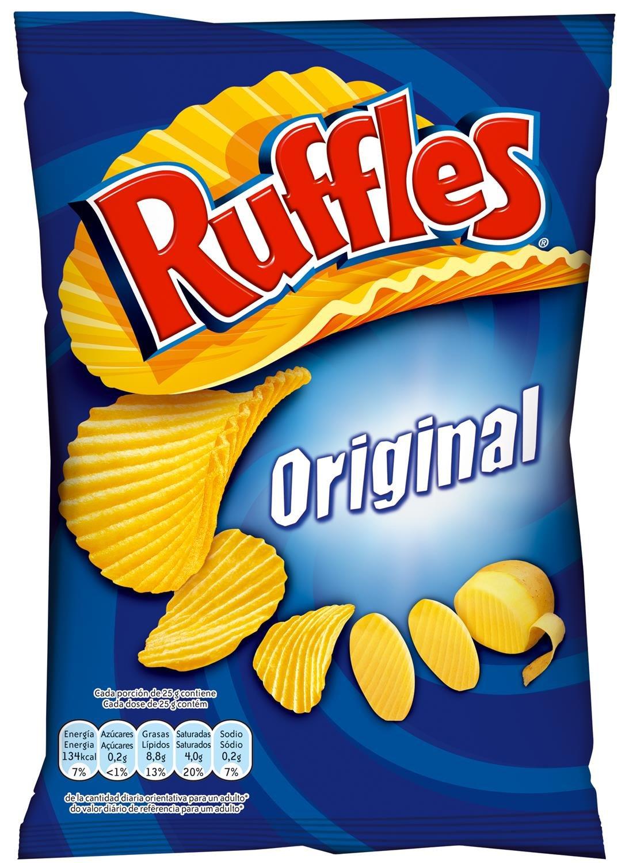 Ruffles -Original - Patatas Fritas con Sal - 170 g: Amazon.es: Alimentación y bebidas