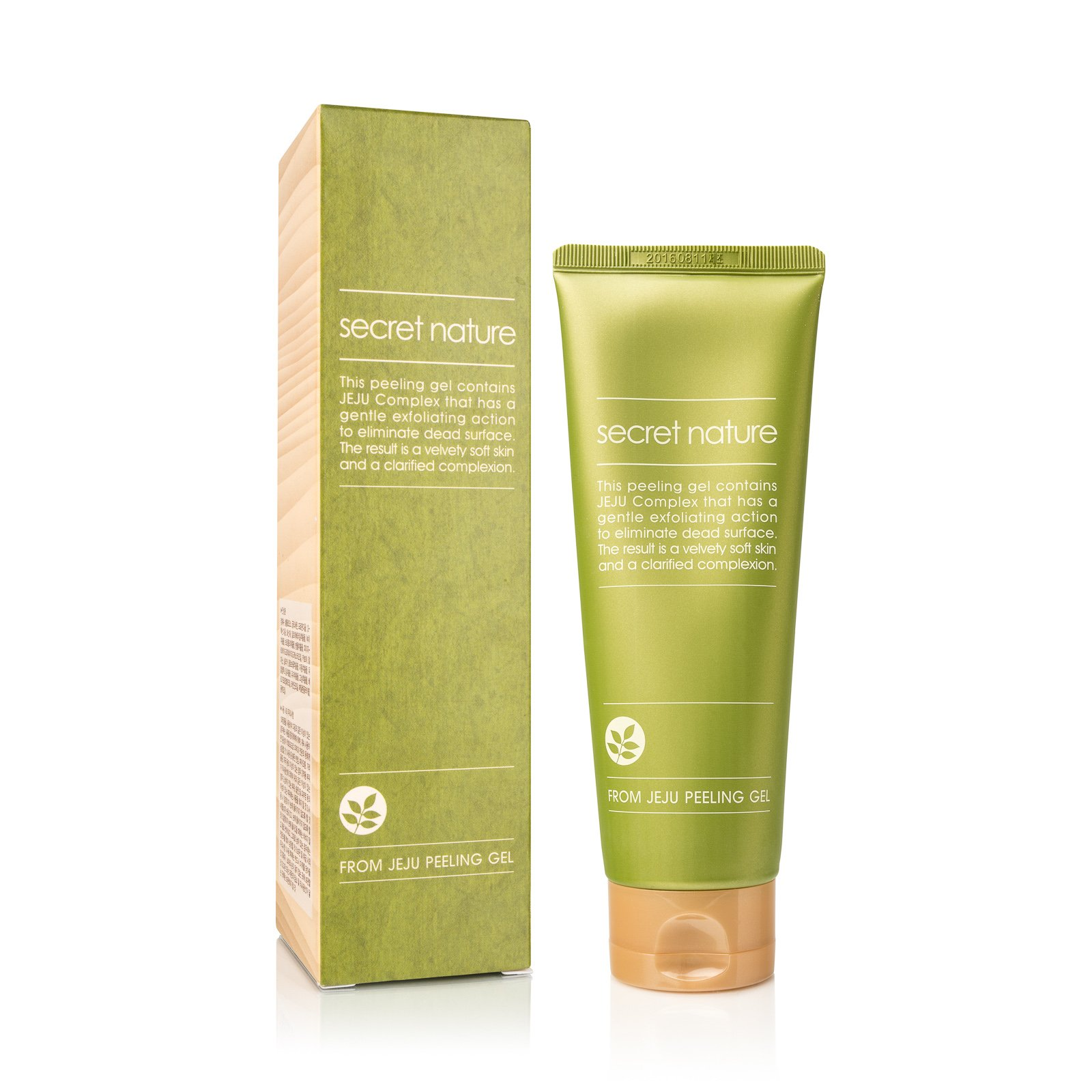Exfoliating Korean Face Peeling Gel with Jeju Complex | Exfoliates the Dead Skin | Contains Activated Cellulose and Volcanic Ash | Achieve Soft & Healthy Skin | Prevent Aging and Acne Outbreaks