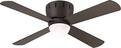 Emerson Ceiling Fans CF530ORB Wyatt Modern Low Profile Hugger Ceiling Fan