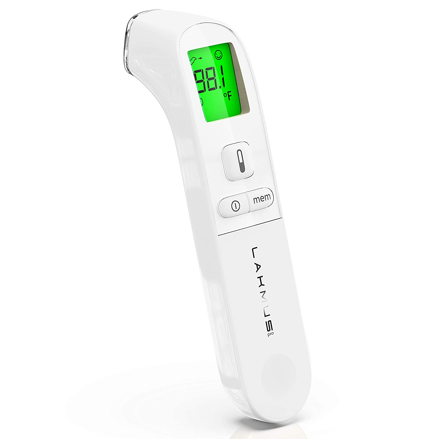 Medical Forehead Thermometer for Fever – Baby Temporal Digital Thermometer – Infrared Forehead Thermometer for Kids and Adults – Portable Thermometer with Case – New Model of Fast Baby Thermometer