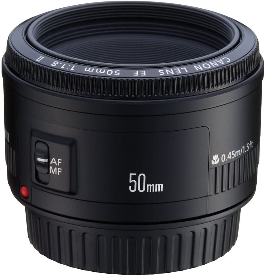 Canon EF 50mm f/1.8 II Camera Lens - Fixed (Discontinued by Manufacturer)