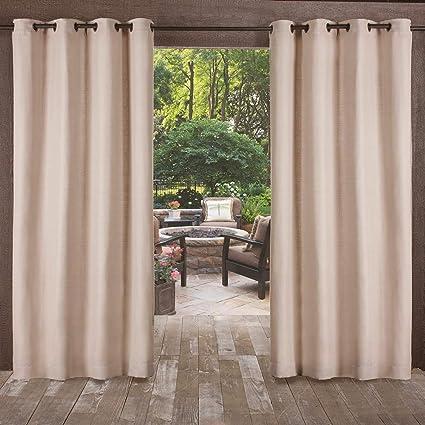 Amazon Com Exclusive Home Delano Heavyweight Textured Indoor