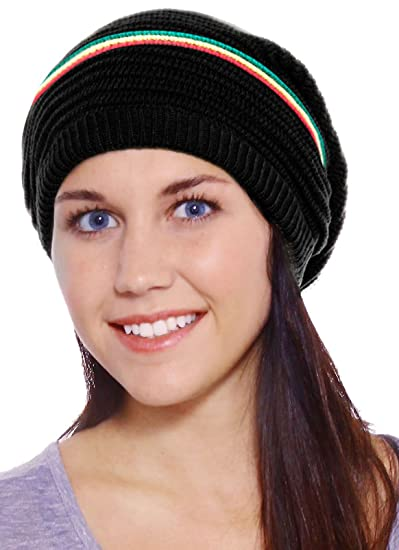 2c214c6acfd63a Amazon.com: D Diana Dickson Mens Womens Winter Warm Beanie Hat Black ...
