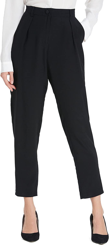 LilySilk Pantalones Mujer Estilo de Negociación 100% Seda ...