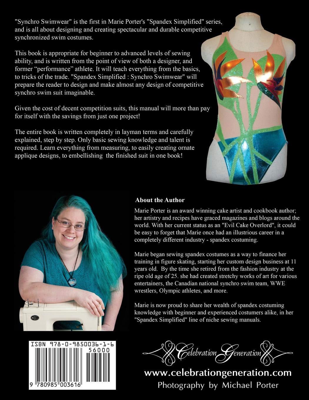 Spandex Simplified Synchro Swimwear Amazoncouk Marie Porter