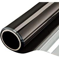 Window Film One Way Mirror Film Daytime Privacy Static Non-Adhesive Decorative Heat Control Anti UV Window Tint for Home…