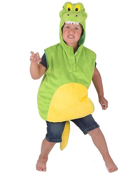 Generique - Disfraz de cocodrilo niño 5-6 años (110-116 cm ...