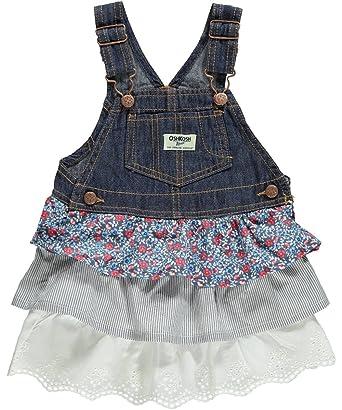 46fa6b831d6b Amazon.com  OshKosh B gosh Baby Girls  Triple Tiered Jumper (Baby ...