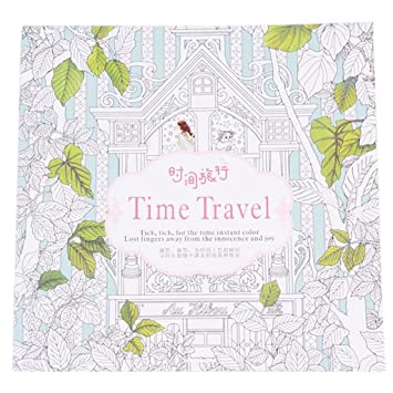 Yaocan time travel coloring books for children adults
