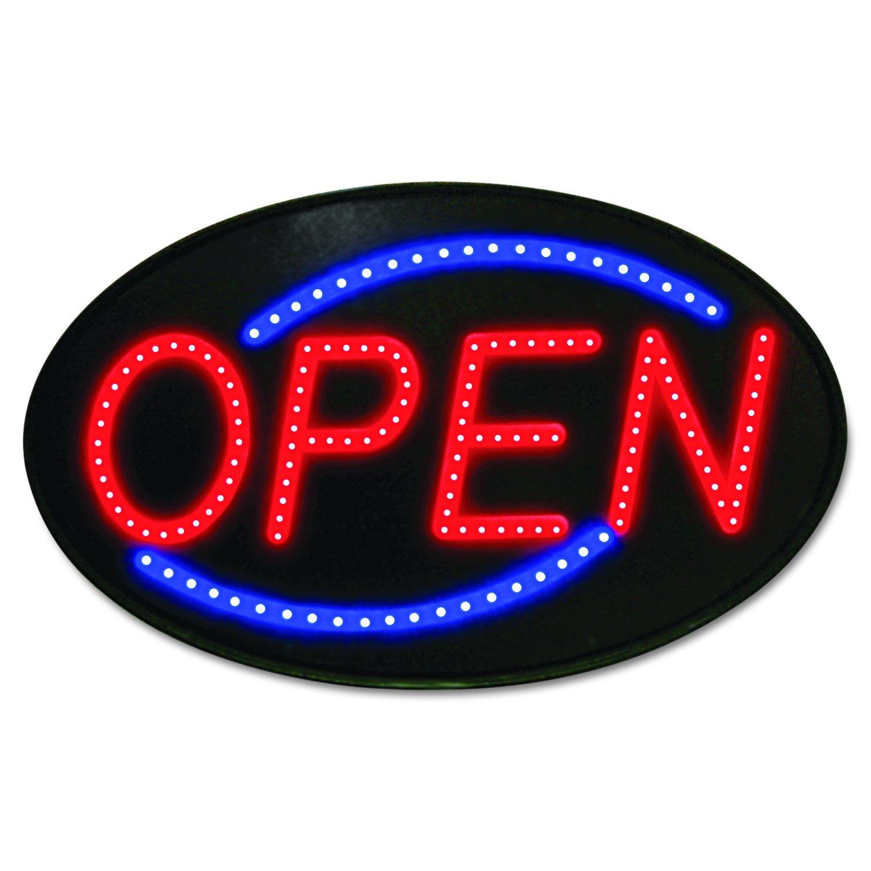 Amazon.com : Newon 5583 LED Open Sign with Flashing Effects ...