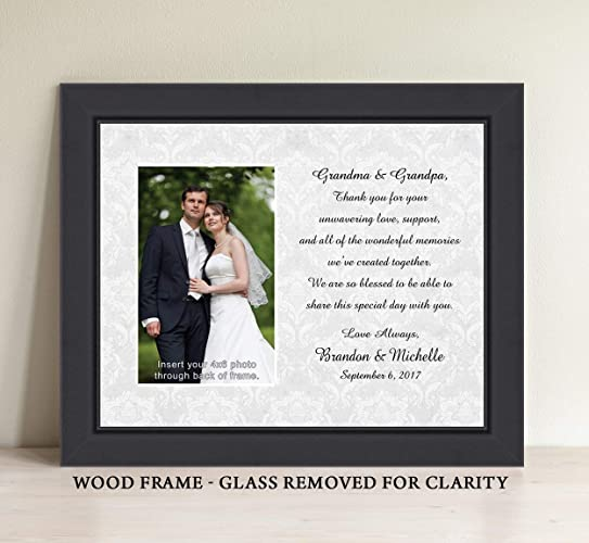 Amazon.com: Wedding Gift For Grandparents Personalize Picture Frame ...